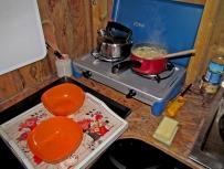 preparing dinner in the kitchen © Dave McFadzean