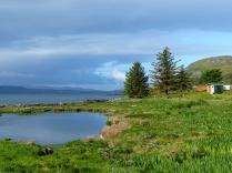 The hut and lochan © Dave McFadzean